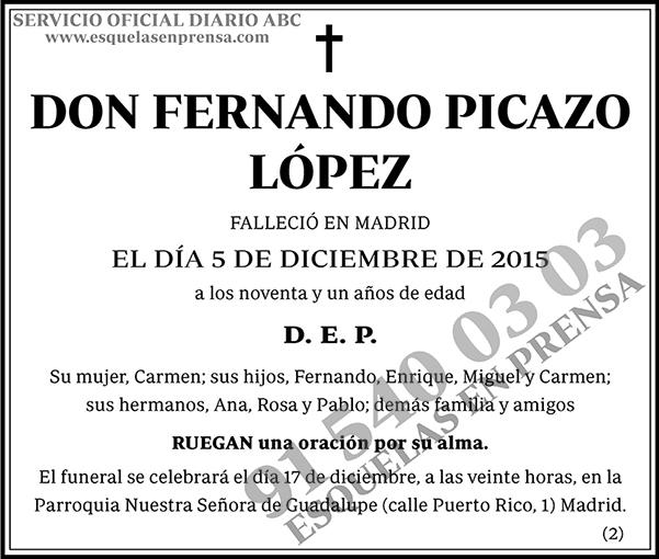 Fernando Picazo López